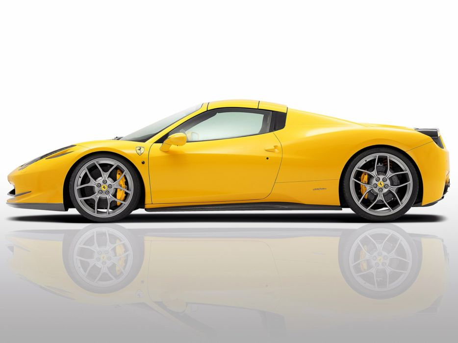 Novitec Rosso Ferrari 458 Spider cars modified 2012 wallpaper