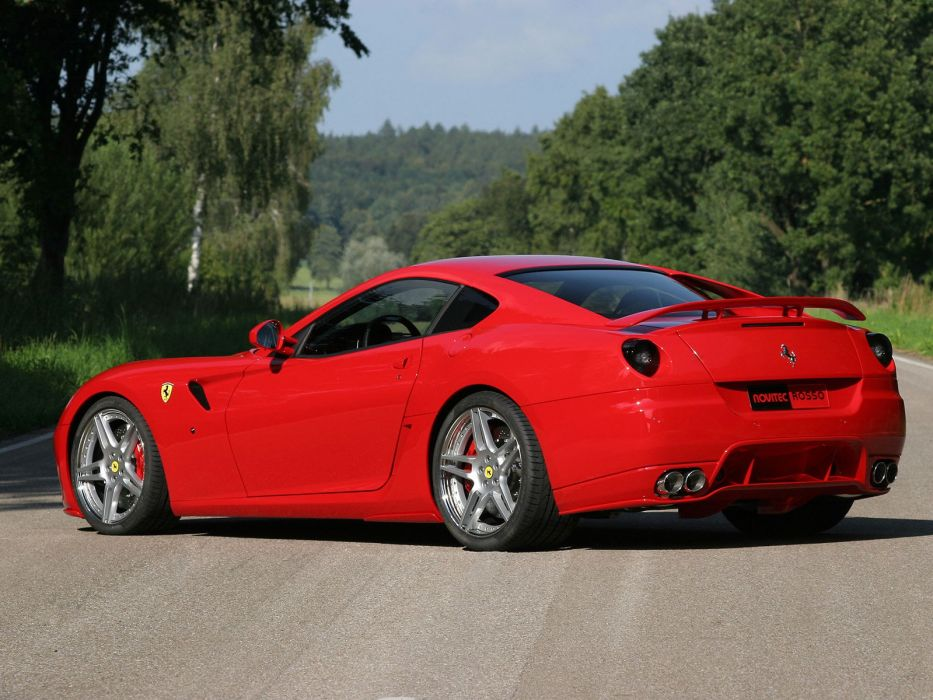 Novitec Rosso Ferrari 599 Gtb Fiorano Cars Modified 2006 Wallpaper
