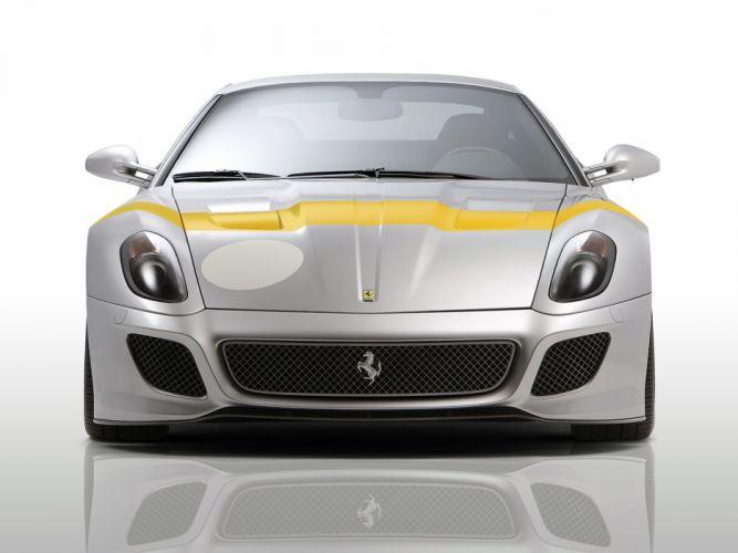 Novitec Rosso Ferrari 599 GTO cars modified 2011 wallpaper