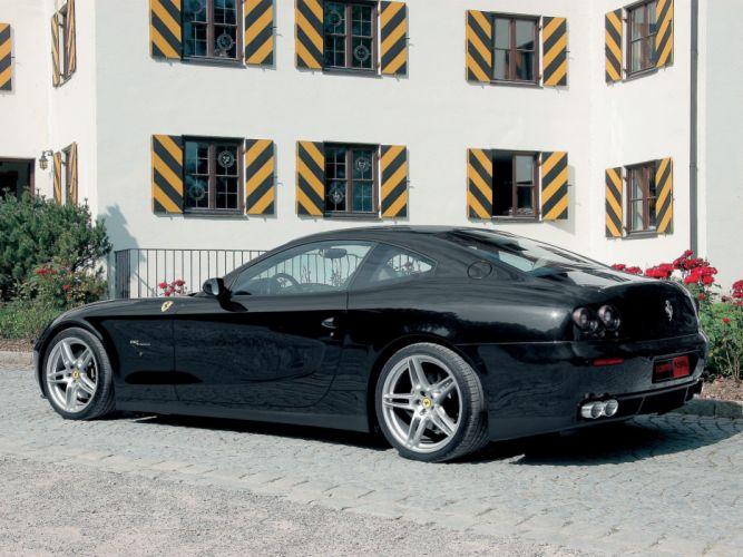 Novitec Rosso Ferrari 612 Scaglietti cars modified 2007 wallpaper