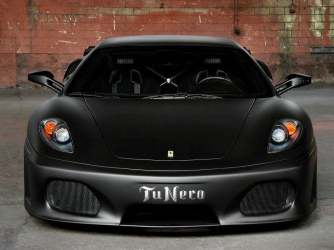 Novitec Rosso Ferrari F430 TuNero cars modified 2007 wallpaper