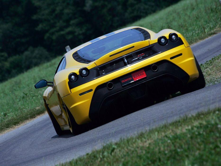 Novitec Rosso Ferrari F430 Scuderia cars modified 2008 wallpaper