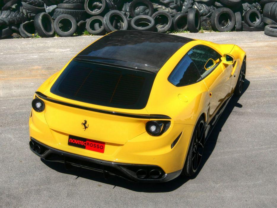 Novitec Rosso Ferrari-FF cars modified 2012 wallpaper
