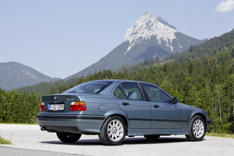 BMW 323i Sedan (E36) cars 1995 wallpaper