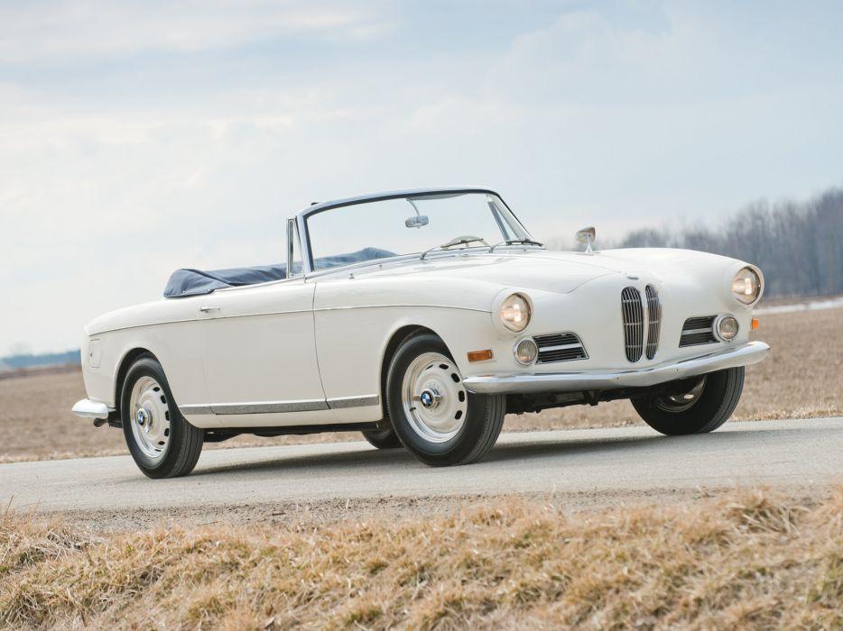 BMW 503 cabriolet classic cars 1956 wallpaper