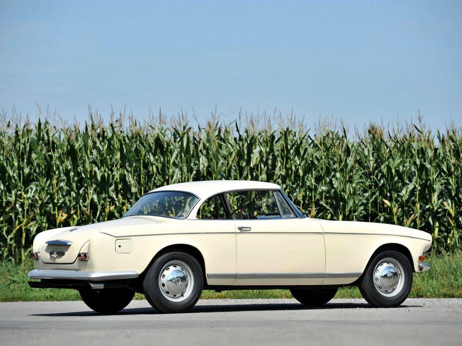 BMW Coupe Ghia-Aigle classic cars 1956 wallpaper