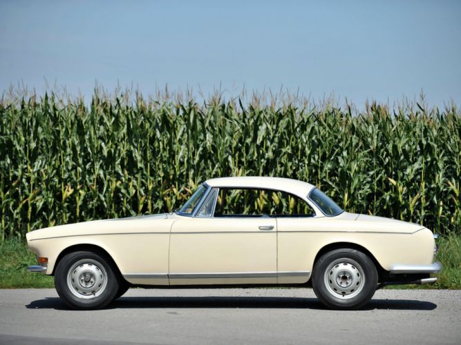 BMW Coupe Ghia-Aigle classic cars 1956 wallpaper