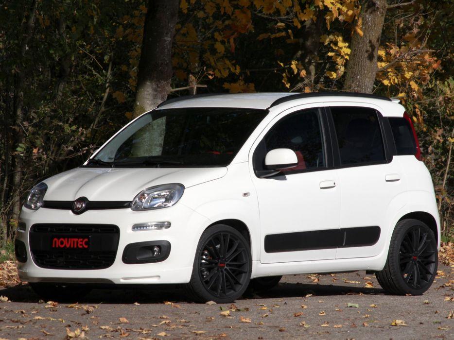 Novitec Fiat Panda cars modified 2012 wallpaper