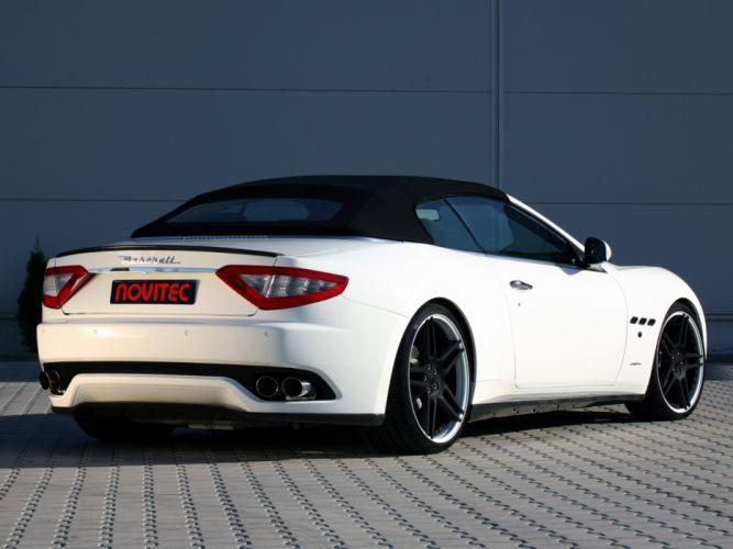 Novitec Tridente Maserati GranCabrio cars modified 2011 wallpaper