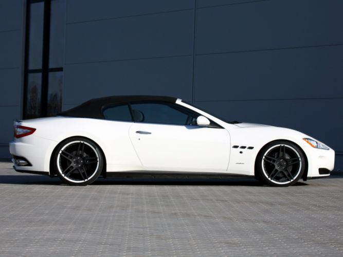 Novitec Tridente Maserati GranCabrio cars modified 2011 wallpaper