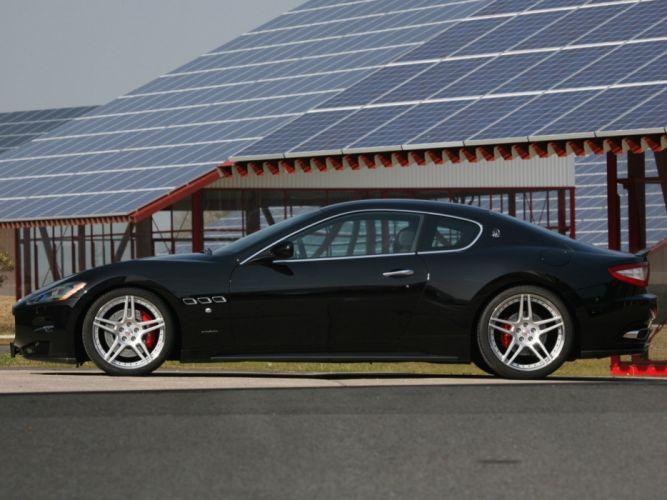 Novitec Tridente Maserati GranTurismo-S cars modified 2009 wallpaper