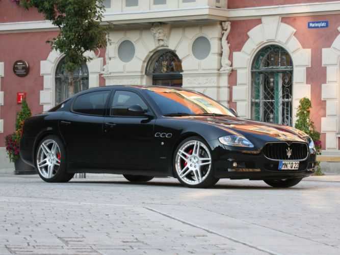 Novitec Tridente Maserati Quattroporte-S cars modified 2010 wallpaper