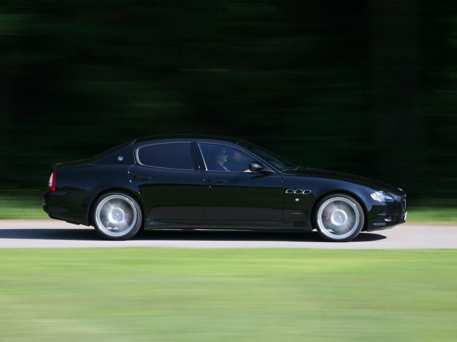 Novitec Tridente Maserati Quattroporte-S cars modified 2010 wallpaper