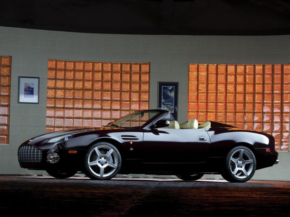 Aston Martin DB-AR1 Zagato cars convertible 2003 wallpaper