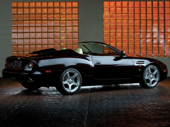 Aston Martin DB-AR1 Zagato cars convertible 2003 wallpaper