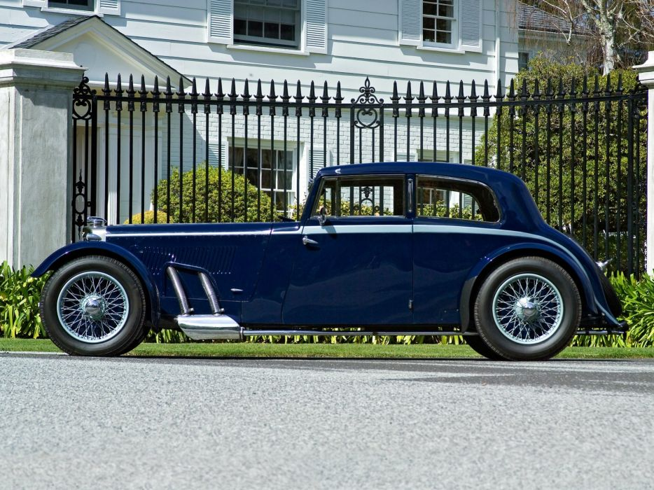 Aston Martin MkII Saloon cars 1934 wallpaper
