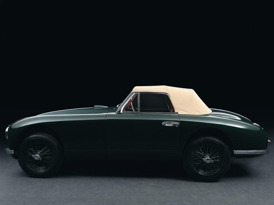 Aston Martin DB2 Vantage Drophead Coupe cars 1951 wallpaper