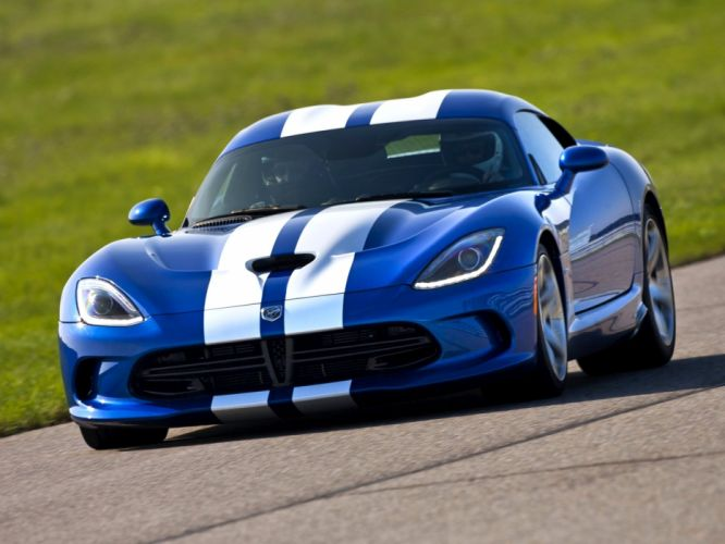 2013 Dodge Viper SRT GTS Launch Edition cars coupe usa wallpaper