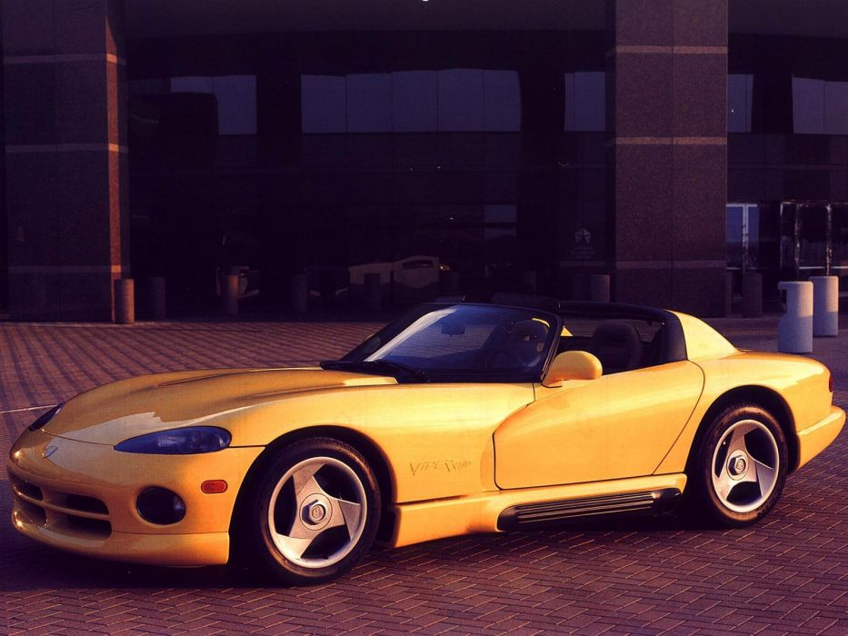 1992 Dodge Viper RT-10 cars coupe usa wallpaper