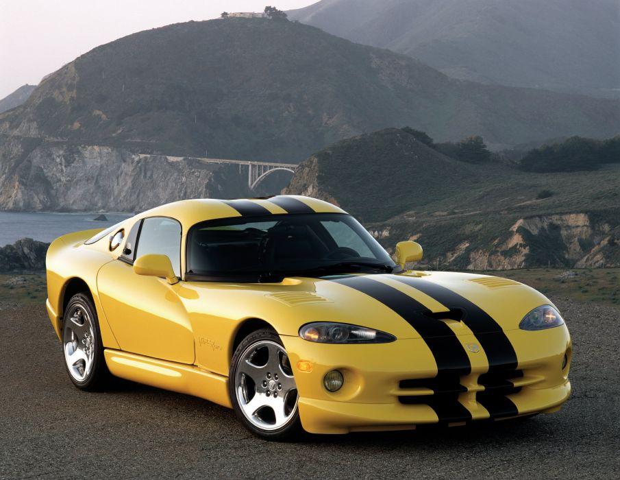 1996 Dodge Viper GTS cars coupe usa wallpaper