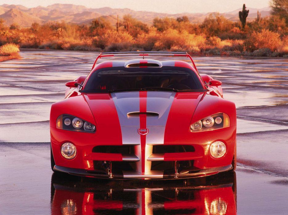 2000 Dodge Viper GTS-R Concept cars coupe usa wallpaper