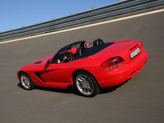 2003 Dodge Viper SRT10 Convertible cars coupe usa wallpaper