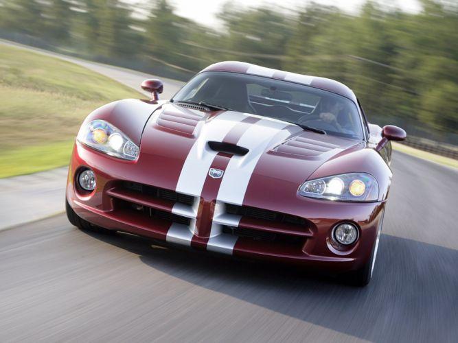 2008 Dodge Viper SRT10 Coupe cars coupe usa wallpaper