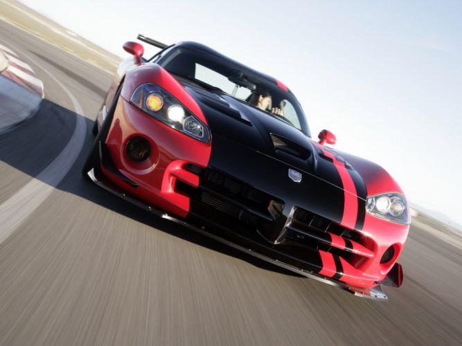2008 Dodge Viper SRT10 ACR cars coupe usa wallpaper