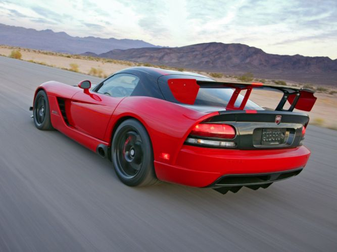 2008 Dodge Viper SRT10 ACR cars coupe usa wallpaper
