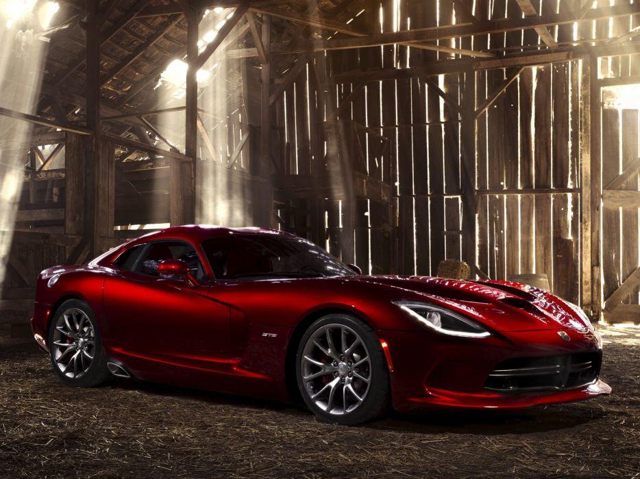 2013 Dodge Viper SRT cars coupe usa wallpaper
