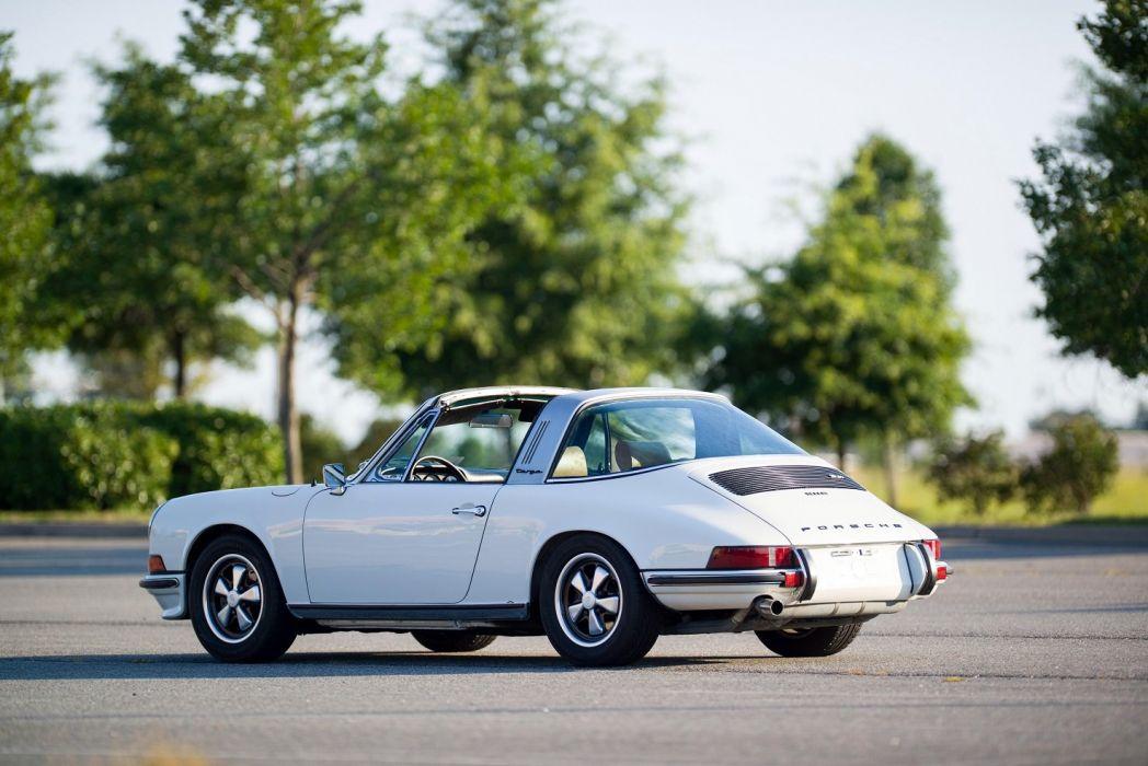 Porsche 911-S 2 4l Targa US-spec (911) cars 1971 wallpaper