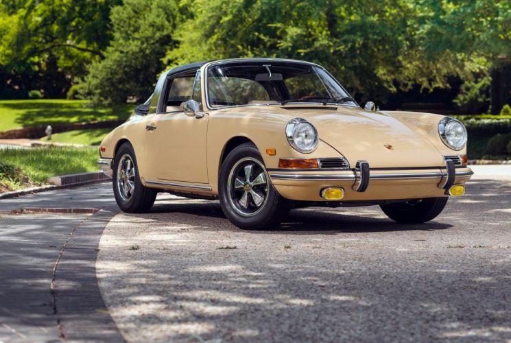 Porsche 911 2 litres Targa US-spec (901) cars 1966 wallpaper