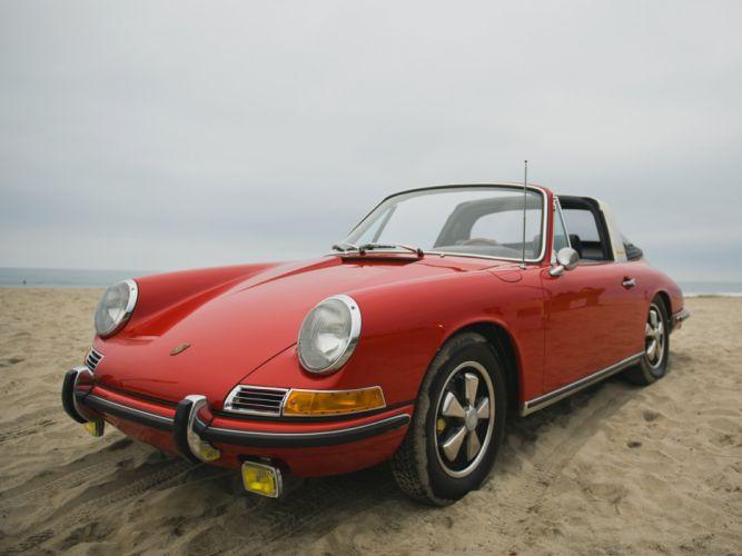 Porsche 911-S 2 litres Targa US-spec (901) cars 1966 wallpaper