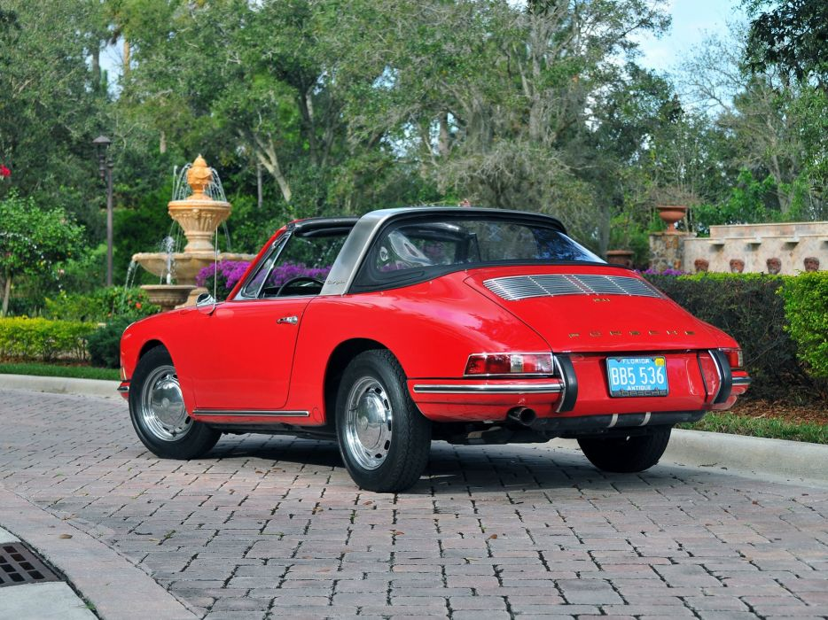 Porsche 911-S 2 litres Targa US-spec (901) cars 1966 wallpaper