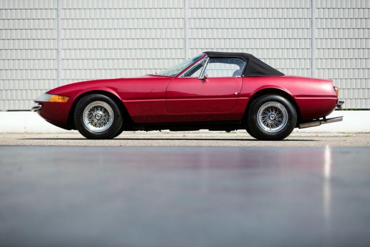 Ferrari 365 GTS-4 Daytona convertible cars 1971 wallpaper