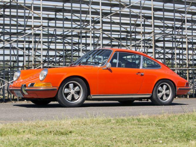 Porsche 911-s 2 2-litres Coupe (911) cars 1970 wallpaper