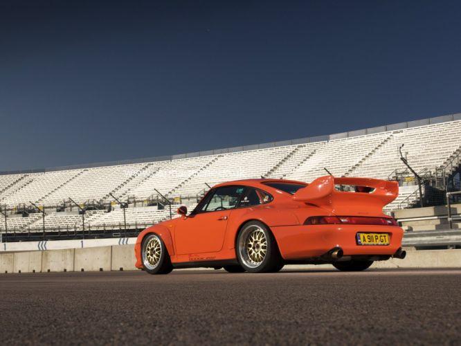 Porsche 911 GT2 (993) cars 1995 wallpaper