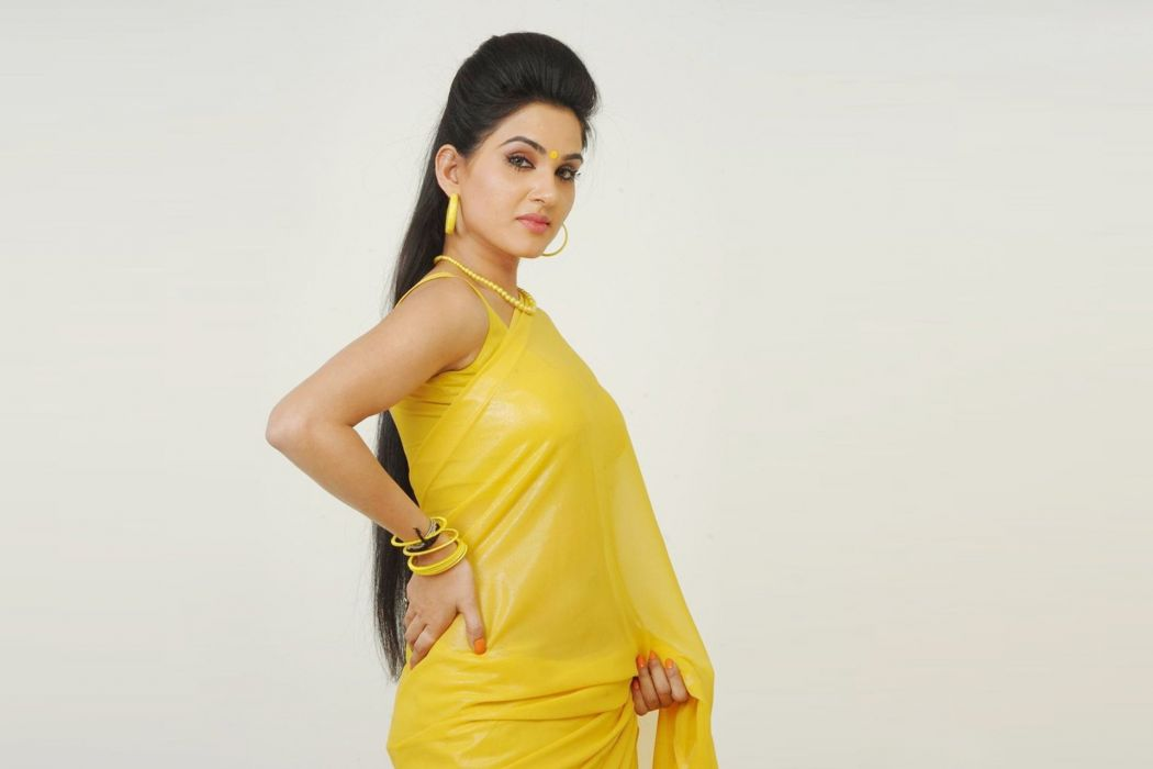 Kavya Singh Yellow Wallpaper wallpaper