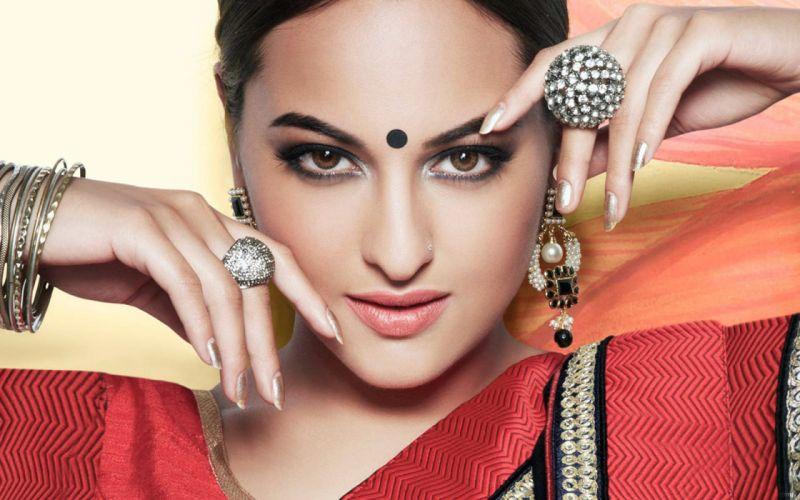 sonakshi sinha bollywood actress-wide wallpaper