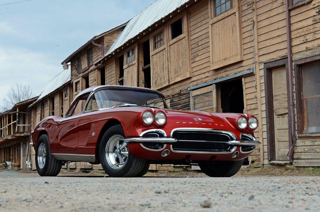 1962 Chevrolet Chevy Corvette Street Machine Cruiser Hot USA -09 wallpaper