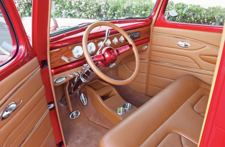 1940 Ford Deluxe Pickup Street Rod Streetrod Hot USA -03 wallpaper