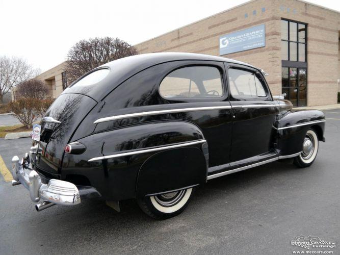 1948 Ford Super Deluxe Sedan Two Door Classic Old Vintage Original USA -15 wallpaper