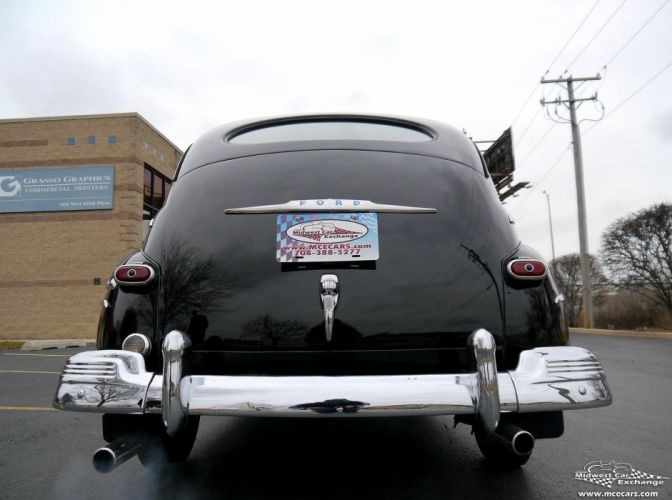 1948 Ford Super Deluxe Sedan Two Door Classic Old Vintage Original USA -19 wallpaper