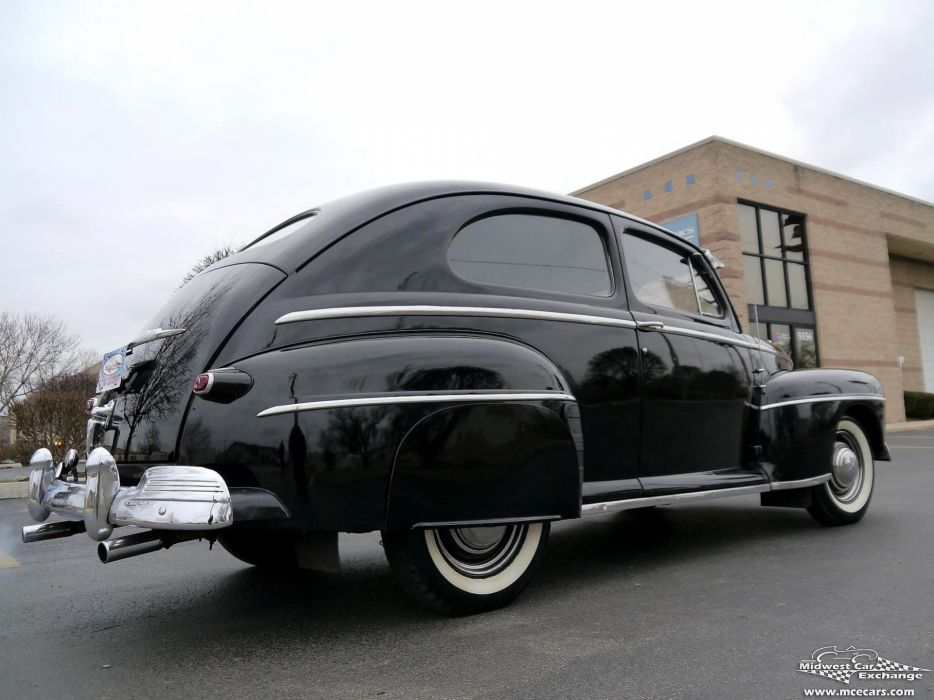 1948 Ford Super Deluxe Sedan Two Door Classic Old Vintage Original USA -22 wallpaper