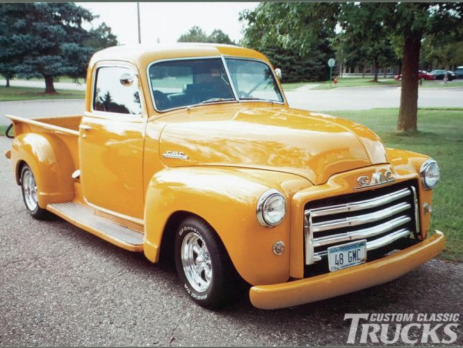 1948 GMC Pickup Hotrod Streetrod Hot Rod Street USA 1600x1200-04 wallpaper