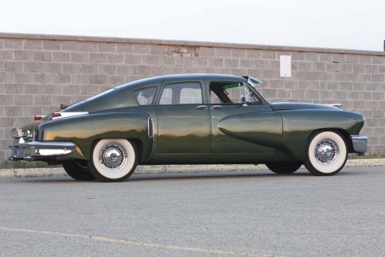 1948 Tucker Torpedo Sedan Classic Old Vintage Original USA -04 wallpaper