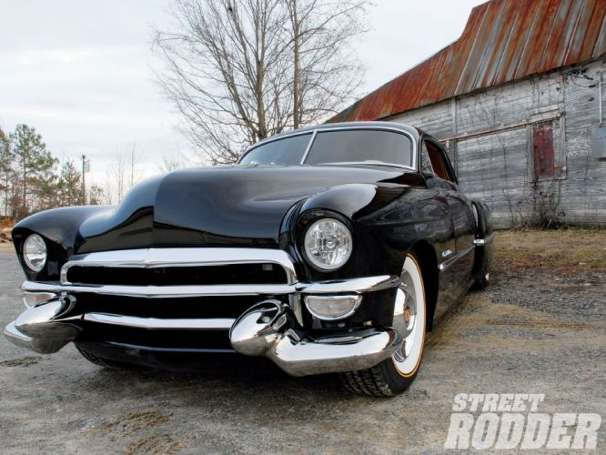 1949 Cadillac Sedanette Hotrod Custom Kustom Hot Rod USA 1600x1200-01 wallpaper