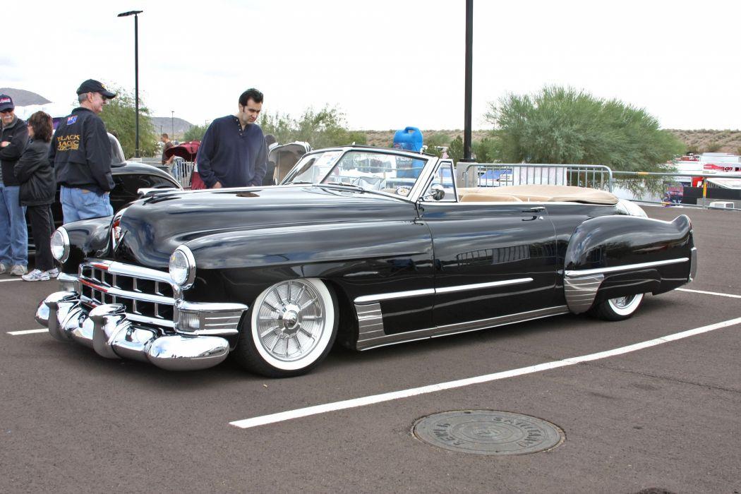 1949 Cadillac Convertible Hotrod Hot Rod Custom Kustom Usa 3888x2592 01 Wallpaper