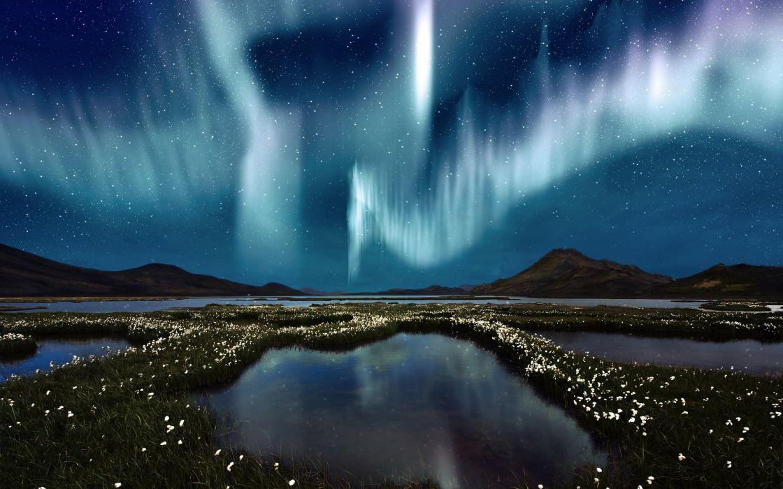 aurora boreai naturalezal artico wallpaper