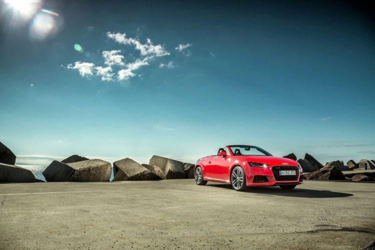 Audi-TT Roadster 2 0 litres TFSI quattro S-line AU-spec cars 2015 wallpaper